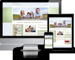 green-meadow-website-template